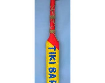 Tiki Bar Wooden Paddle