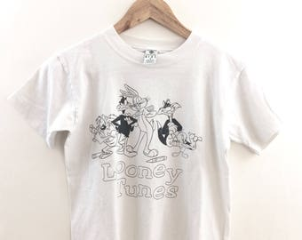 Vintage 96 Looney Tunes Bugs Bunny Farbe mir T-Shirt