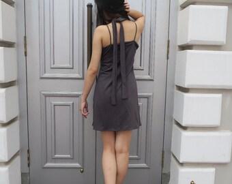 Moment in Time Slit Dress // Choker + Slit Dress/Slit Top + Bottom