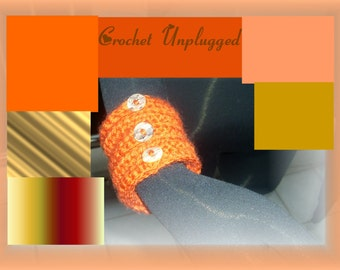 Terracotta 3-button Cuff  Ready-to-Ship