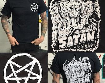 Waitin' For Satan T-Shirt