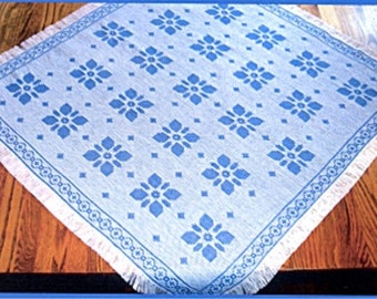 PATTERN SALE Hibiscus, Table Topper Pattern #1218 Limited Stock