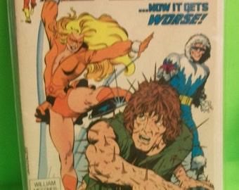 Flash #28 July Wally West Porcupine Man,Captain Cold, 1st Linda Park  Good-VG  Vintage Comic Book 2nd Series 1989 DC Comics
