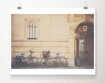 cambridge photograph bicycle photograph trinity hall photograph cambridge university photograph cambridge print bicycle print