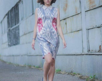 Silk summer dress - made of 100% mulbery Silk - in a limited quantity
