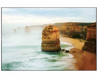 Aged beauty, Sunrise, Landscape photography, Sea, Fine Art print, Ready to frame, Coast, Water, Beach