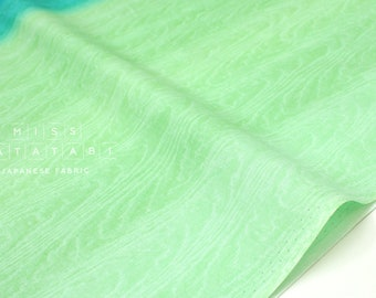 Japanese Fabric Moare Ombre - green - 50cm