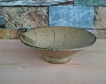 Brush Decorated Karatsu ware Large Chawan