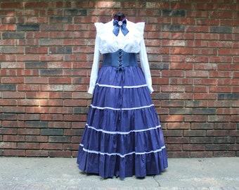 NEW Size 2X Pioneer, Prairie, 1800s Costume Set