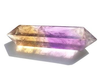 Double Terminated Ametrine Spheres Points,  Ametrine Spheres Healing Energy Healing Spiritual Stones (18042013)