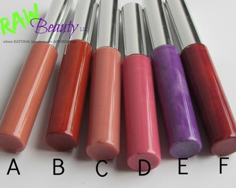 Lip Gloss - Set of Two, Natural Lip Color, Natural Makeup, Natural Lip Gloss