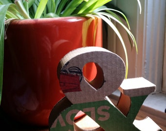 Sculpted Cardboard Ampersand