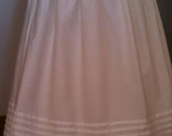 Historical Petticoat 7 tucks