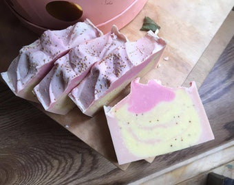 Mimosa Soap - Mother's Day Gift - Mom Gift - Homemade Soap - Vegan Soap - Gift for Mom - All Natural Soap - Handmade Soap - Artisan Soap