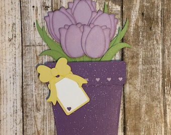 Gift Card Holder, Mother's Day Card, Mother's Day Gifts, Mother's Day Gift, Flower Pot Card, Card Holder, Money Holder, Card For Mom, Card