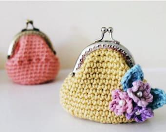Little Purses: A Crochet purse PDF Pattern