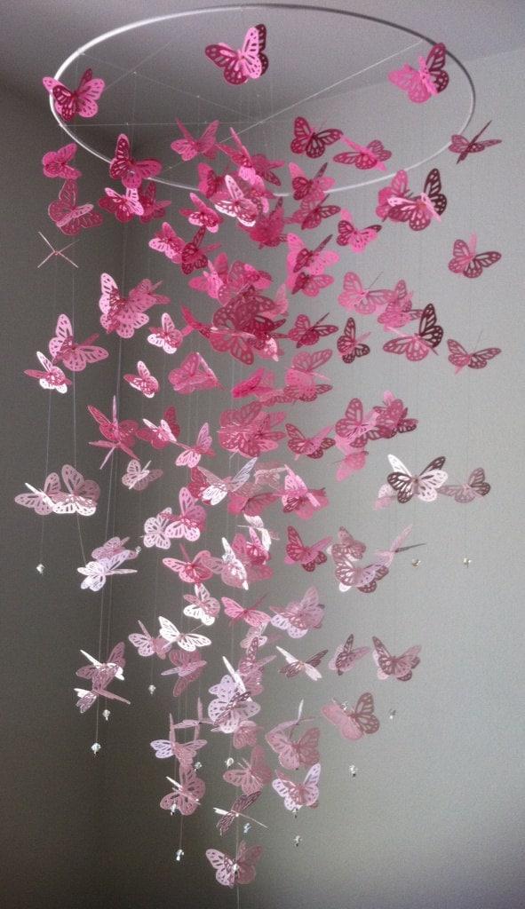 Paper flower mobile vatozozdevelopment paper flower mobile mightylinksfo