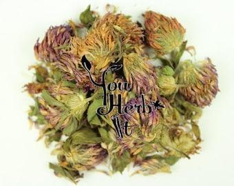 Red Clover Loose Whole Herb - Trifolium Pratense