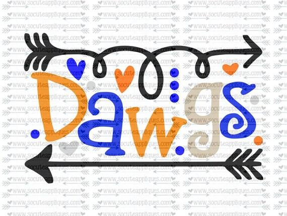 Dawgs Fun Arrows Svg Socuteappliques Svg Sayings