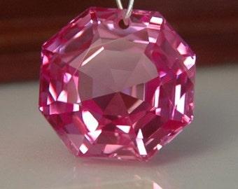 Pink Topaz Fancy Octagon Briolette
