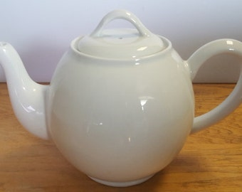 Porcelaine Deshouliers French White Porcelain London Teapot #8 - Made in France