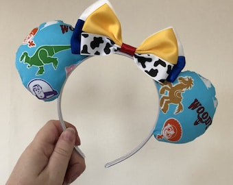 Toy Story inspired Mickey/Minnie Disney ears - Jessie, Rex, Buzz, Woody