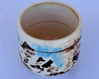 Handmade ceramics. Single piece. Soul Containers Collection