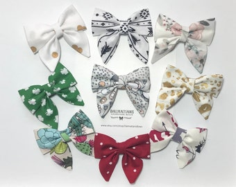 Choose Your Color Sailor Bow!  Many colors and patterns available!