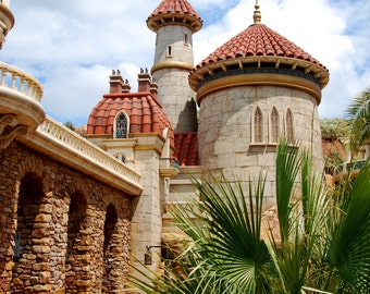 Disney World Magic Kingdom Ariel's Castle Magnet #2-READY TO SHIP