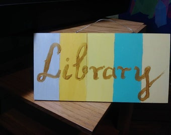 "Library 10"" x 5"""
