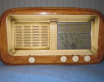 Tube radio ALLOCCHIO BACCHINI mod. 216, renfonce, des radios vintage, collection, objets de collection, radio vintage