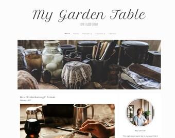 My Garden Table - Responsive WordPress Theme, food blog template