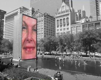 Chicago Face#2. Photo Print