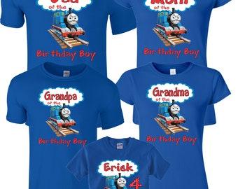 Birthday Boy Custom Family  MOM DAD and family Custom Shirts