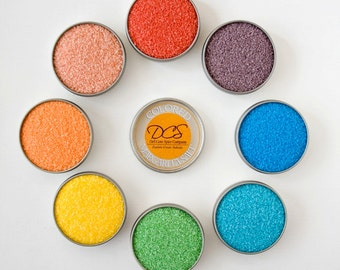 Margarita Salt Favor Salt Sampler – Great Margarita Gifts, Gifts for Bartenders or Sea Salt Favors