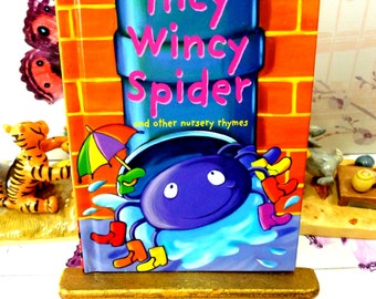 Incy Wincy Spider Vintage LadyBird Book Glossy Cover all the favourite Childrens Nursery Rhymes Lovely illustrations