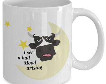 Bad mood arising - coffee mug