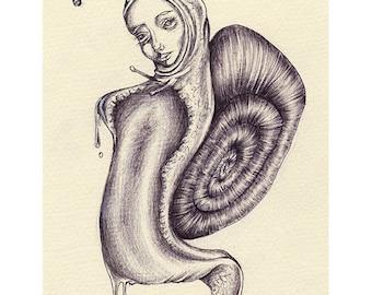 Snail Child 1 (Print)