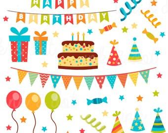 birthday clipart etsy rh etsy com birthday clipart free birthday clipart google images