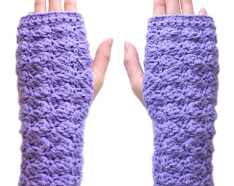 Cozy Fingerless Gloves - PDF Crochet Pattern - Instant Download