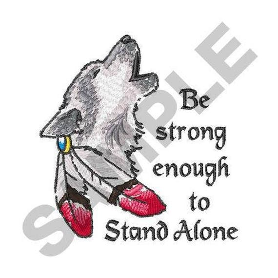 Stand Alone Embroidery Designs : Strong enough to stand alone machine embroidery design