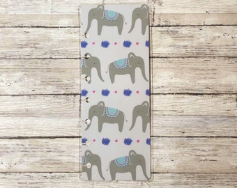 Elephant Mini Happy Planner Bookmark