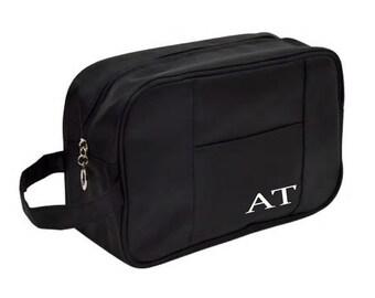 Personalized Men's Grooming Travel Bag | Personalized Dopp Kit Travel Case | Shaving Kit | Groomsmen Gift