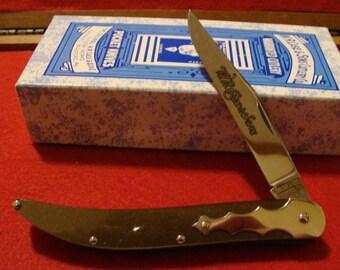 Case XX Classic 'Barn Door Hinge' Molted Brown Toothpick 10095