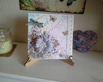 Vintage style floral Card