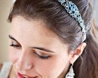 Crystal-Kopfband - Crystal Headpiece - Hochzeit Headpiece - Hochzeit-Kopfband - etwas Bue - Hochzeitssuite Stirnband - Prom-Kopfband - SOPHIA