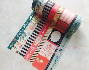 NEW*** Recollections Washi Tape- I love this day-Make it happens