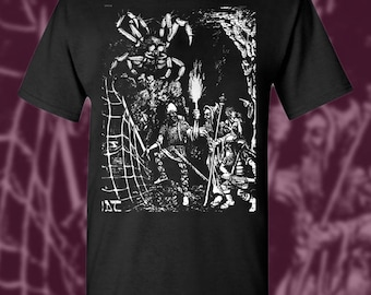SPIDER'S LAIR Advanced Dungeons and Dragons T-Shirt