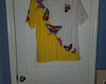 Vintage Butterfly Shirt *New with tags*