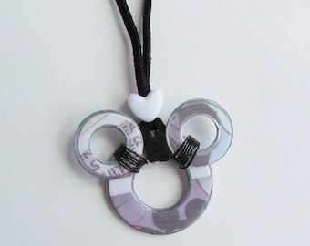 Mickey Washer Necklace